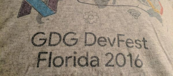 DevFest Florida 2016 Recap